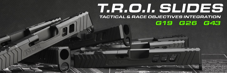 NDZ TROI Glock Slides by NDZ Performance